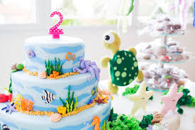 lis and her under the sea friends 2nd birthday party project nursery