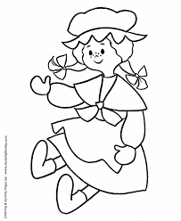 pre k coloring pages free printable rag doll pre k coloring page