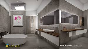 Minosa D Rendering - Bathroom design 3d