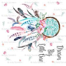 36 x36 pink aqua catcher with quote big one