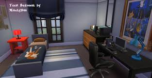 Split Level Bedroom by Mod The Sims A Charming Split Level Brownstone Home