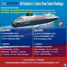 cruise specials unique package plan