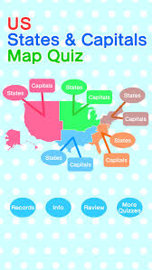 a usa map with states and capitals usa map states and capitals quiz us map quizlet copy of