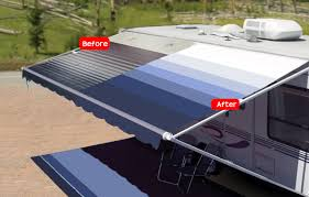 How To Make A Trailer Awning Rv Awning Replacement Fabrics Free Shipping Shadepro Inc