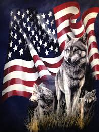 How To Tie Dye An American Flag Wolf Flag Native American World