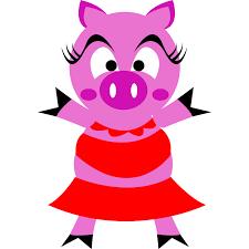 pig cartoon characters free download clip art free clip art