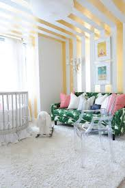 Small Bedroom Nursery Ideas 1097 Best Striped Wall Ceiling Rooms Images On Pinterest Home