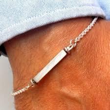 name link bracelet images 925 sterling silver rectangle name tag dog id bracelet link chain jpg