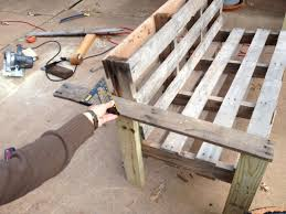bench made out of pallets 5 easy steps to turn a pallet into an outdoor patio bench rk