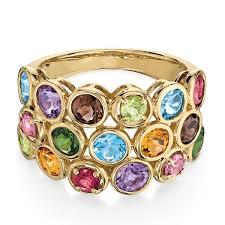 multi ring bracelet images Multi gem ring 14k ben bridge jeweler jpg