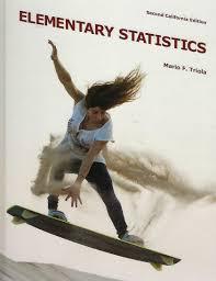 elementary statistics mario f triola 9781256936442 amazon com
