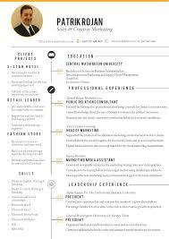 Marketing Resume Creative Resume Marketing Resume Ideas