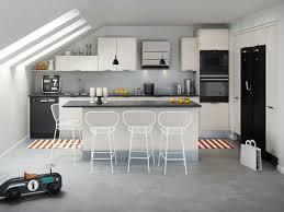ilot central cuisine hygena douze cuisines avec îlot central douze ambiances industrial loft