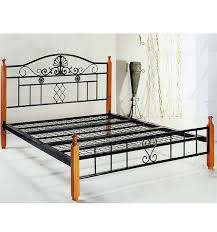 metal furniture stainless steel beds double bed frame with