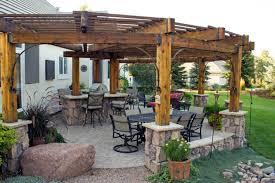 Wood Pergola Designs by Rustic Pergolas Designs Rustic Patio Designs Southwestern Pergola
