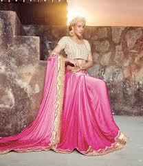 buy pink party wear sarees online florida pink unique party saree