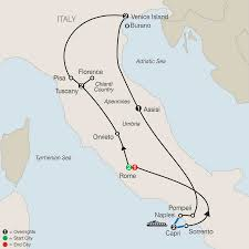 Cities In Italy Map by Italy Escorted Tours U0026 Vacation Packages Globus