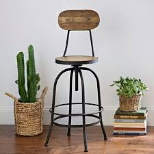 red metal bar stool kirklands