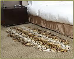 faux tiger skin rug home design ideas
