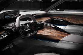 peugeot 2008 interior 2015 peugeot interiors tiny steering wheels for all by car magazine