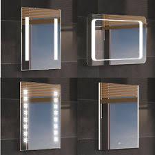 bathroom mirror with lights bathroom mirrors with lights regard to mirror light ebay designs uk