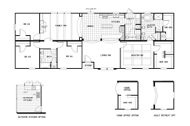 manufactured home floor plan clayton cypress house kelsey bass