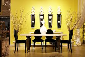yellow dining room ideas dining room wall decorating ideas large and beautiful photos