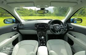 red jeep compass interior variants of jeep compass