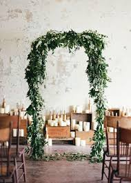 wedding arches outdoor 2017 wedding trends top 30 greenery wedding decoration ideas
