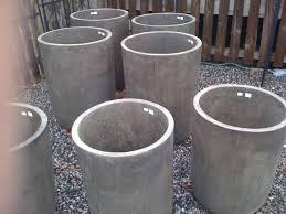 concrete planters for sale tall concrete planters design loft the design blog of barbour