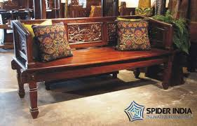 antique wooden bench seat antique wooden carved sofa carved indian bench manufacturers