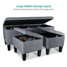 storage ottoman bench bedroom bedroom ottomans and benches bedroom