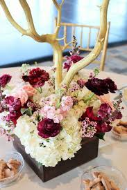 Burgundy Wedding Centerpieces by 30 Elegant Fall Burgundy And Gold Wedding Ideas Deer Pearl Flowers