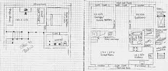 making house plans homemade quonset hand drawn plans