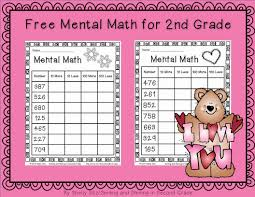 2nd grade mental math smiling and shining in second grade mental math for second grade