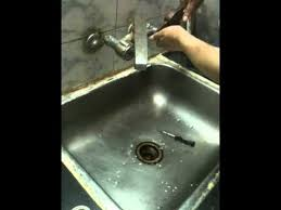 how to repair a leaky kitchen faucet indian youtube