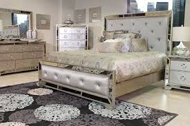 Mirrored Bed Mirrored Bedroom Set Furniture Eo Furniture