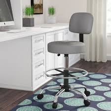 Drafting Chair For Standing Desk Drafting Chairs You U0027ll Love Wayfair