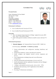 Resume Samples Network Engineer by Resume For Network Engineer With Ccna Resume For Your Job