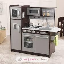 cuisine kidkraft kidkraft cuisine uptown expresso 53260 en bois pour fille