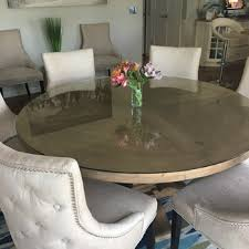 60 round glass dining table 60 round glass table top 3 4 thick ogee tempered attractive