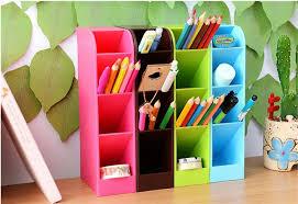 Plastic Office Desk Multi Function Plastic Office Desktop Storage Boxes Makeup