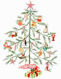 Decorate With Christmas Cards Delicate Watercolor Paintings As Christmas Cards With A Coastal