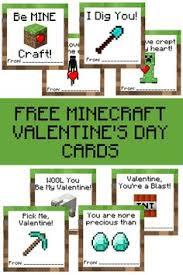 minecraft s day cards free minecraft printable cards valentines valentines