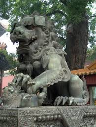 foo dog statues foo dog by famewolf on deviantart
