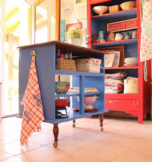 repurposed kitchen island dresser to kitchen island repurpose ideas refurbished ideas