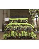 Camo Comforter King Amazing Deals On Lime Green Comforter Sets