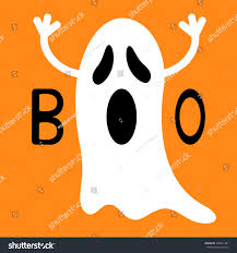 happy ghost clipart happy halloween funny flying ghost hands stock vector 469841981