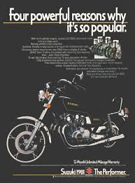 suzuki motorcycles advertisement gallery