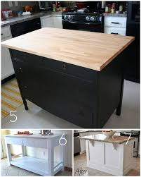 building a kitchen island with seating roundup 12 diy kitchen tables islands and cupboards you can